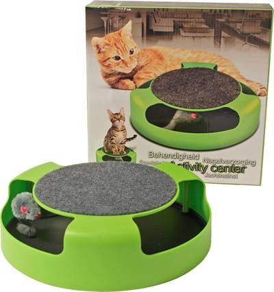 ACTIVITY CENTER MET MUIS GROEN 25CM #95;_25 CM