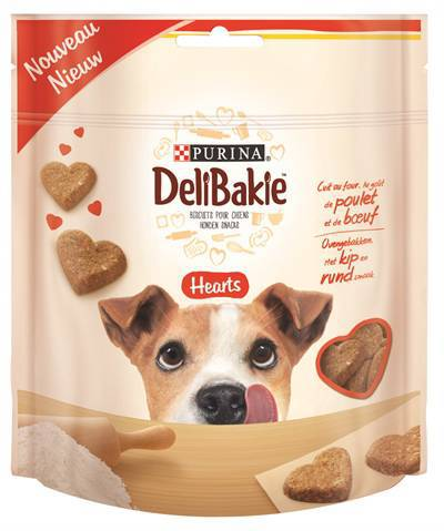DELIBAKIE BISCUITS HEARTS KIP/RUND #95;_100 GR