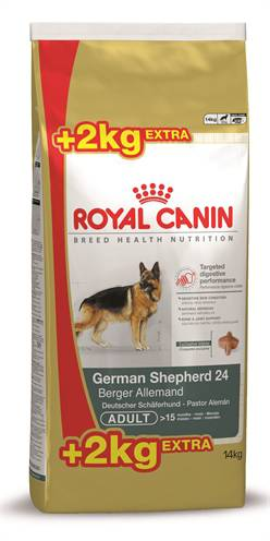 ROYAL CANIN GERMAN SHEP ADULT HONDENVOER #95;_12 KG + 2 KG GRATIS