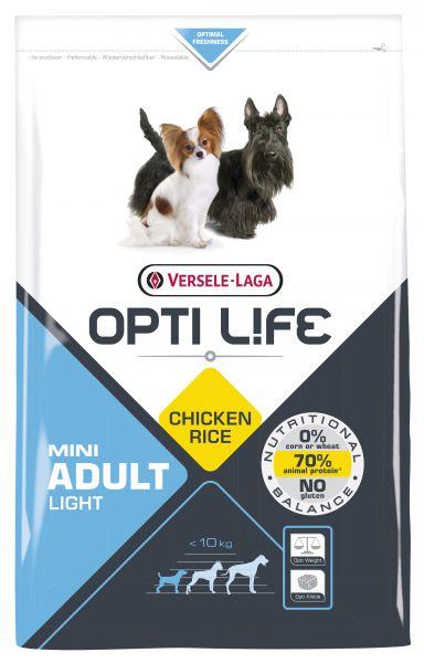 OPTI LIFE ADULT LIGHT MINI HONDENVOER #95;_2,5 KG