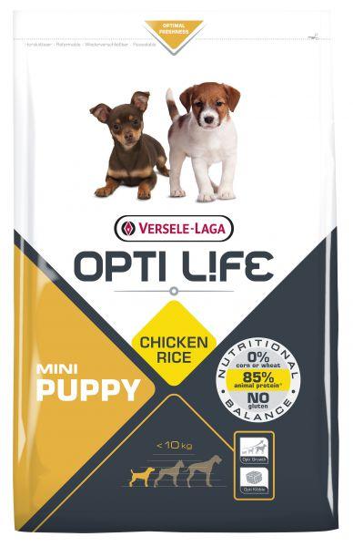 OPTI LIFE PUPPY MINI HONDENVOER #95;_2,5 KG