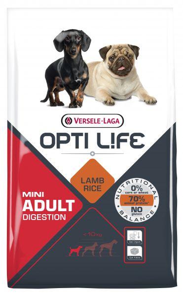 OPTI LIFE ADULT DIGESTION MINI HONDENVOER #95;_7,5 KG