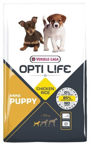 OPTI LIFE PUPPY MINI HONDENVOER #95;_7,5 KG
