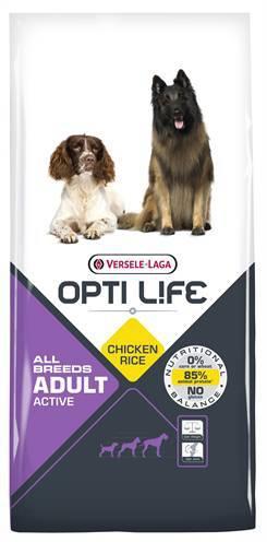 OPTI LIFE ADULT ACTIVE HONDENVOER #95;_12,5 KG