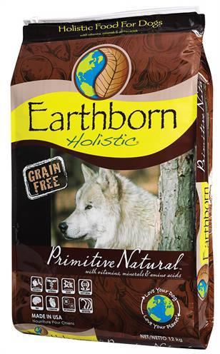 EARTHBORN HOLISTIC PRIMITIVE NATURAL HONDENVOER #95;_12 KG