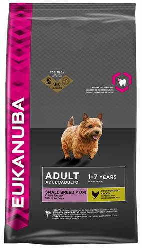 EUKANUBA DOG ADULT SMALL BREED HONDENVOER #95;_7,5 KG