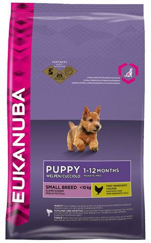 EUKANUBA DOG PUPPY/JUNIOR SMALL BREED HONDENVOER #95;_1 KG