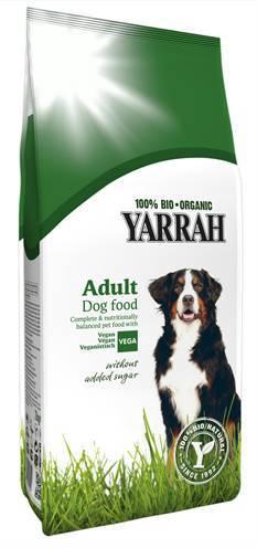YARRAH DOG VEGETARISCHE BIO BROKKEN HONDENVOER #95;_10 KG