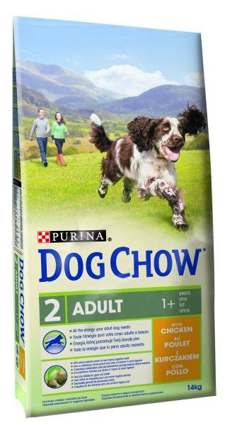 DOG CHOW ADULT KIP HONDENVOER #95;_14 KG