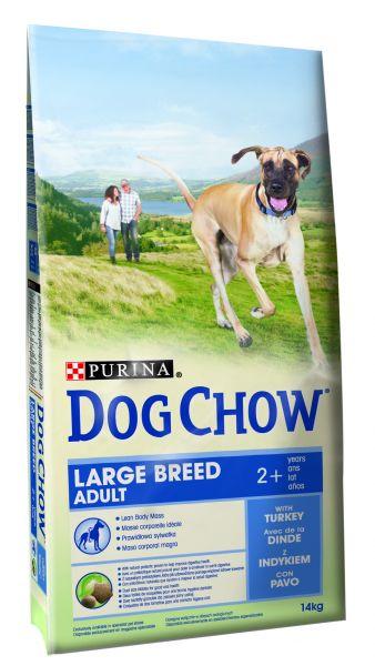 DOG CHOW ADULT LARGE BREED KALKOEN HONDENVOER #95;_14 KG