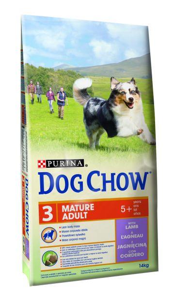 DOG CHOW MATURE ADULT LAM HONDENVOER #95;_14 KG