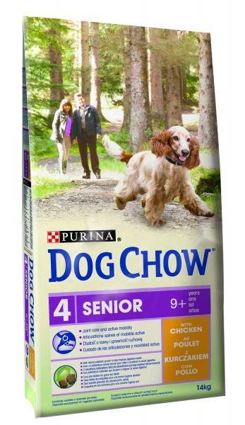 DOG CHOW SENIOR KIP HONDENVOER #95;_14 KG