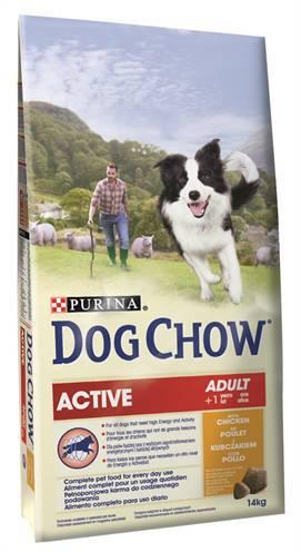 DOG CHOW ACTIVE KIP HONDENVOER #95;_14 KG