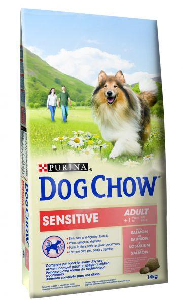 DOG CHOW SENSITIVE ZALM HONDENVOER #95;_14 KG