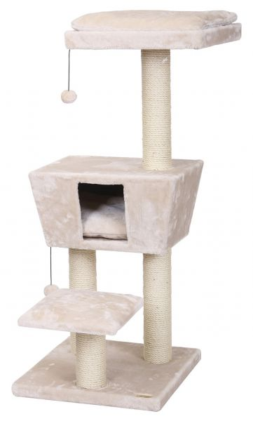 EBI KRABPAAL CAT TREE TREND NEW JERSEY CREAM #95;_48X48X114 CM