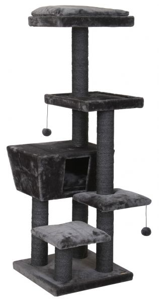 EBI KRABPAAL CAT TREE TREND NORTH DAKOTA GRIJS #95;_48X48X141 CM