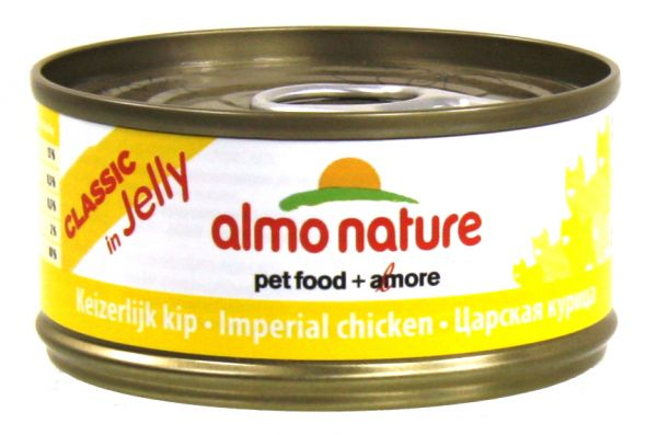 ALMO NATURE CAT IMPERIALE KIP IN GELEI KATTENVOER #95;_70 GR