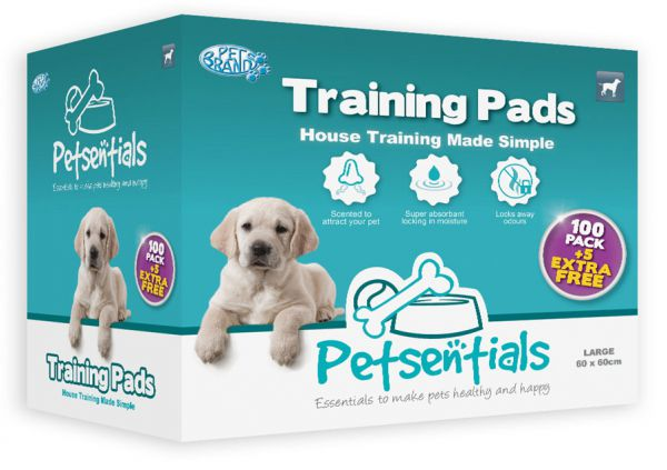 PETSENTIALS PUPPY TRAINING PADS #95;_105 ST