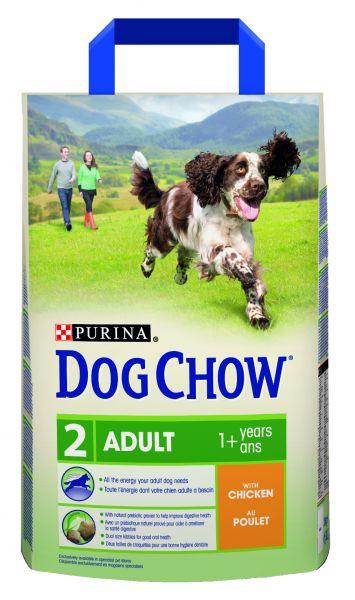DOG CHOW ADULT KIP HONDENVOER #95;_2,5 KG
