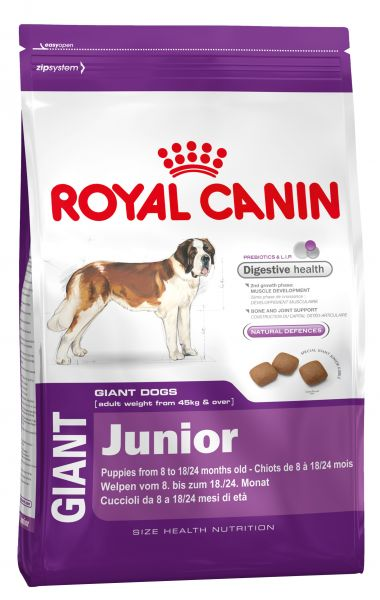 ROYAL CANIN GIANT JUNIOR HONDENVOER #95;_15 KG