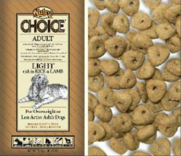 NUTRO CHOICE DOG ADULT LIGHT LAM/RIJST HONDENVOER #95;_2 KG