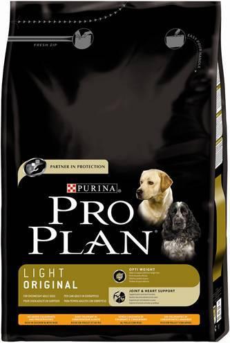 PRO PLAN DOG ADULT LIGHT KIP/RIJST HONDENVOER #95;_3 KG