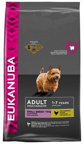 EUKANUBA DOG ADULT SMALL BREED HONDENVOER #95;_15 KG
