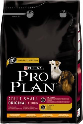 PRO PLAN DOG ADULT SMALL BREED HONDENVOER #95;_3 KG
