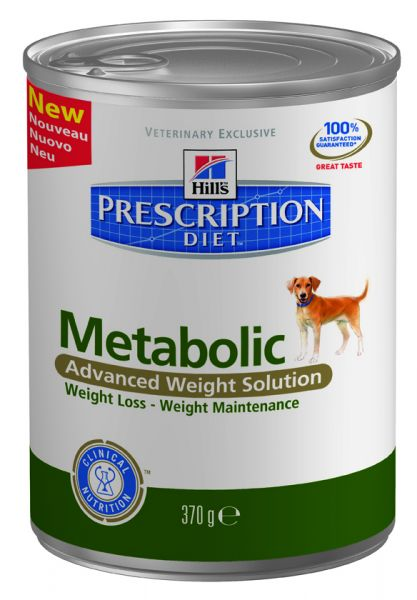 HILL'S PRESCRIPTION DIET CANINE METABOLIC HONDENVOER #95;_370 GR