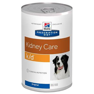 HILL'S PRESCRIPTION DIET CANINE K/D HONDENVOER #95;_370 GR