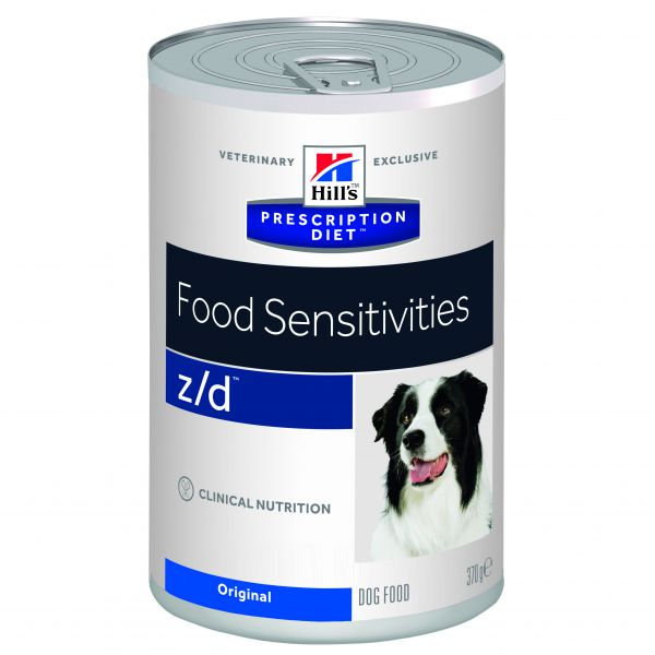 HILL'S PRESCRIPTION DIET CANINE Z/D ULTRA HONDENVOER #95;_370 GR