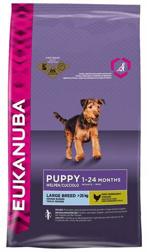 EUKANUBA DOG PUPPY LARGE BREED HONDENVOER #95;_3 KG