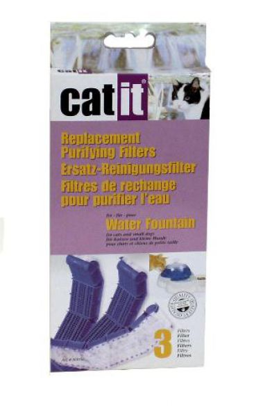 HAGEN SET A3 FILTERS VOOR CATIT WATERFOUNTAIN #95;_