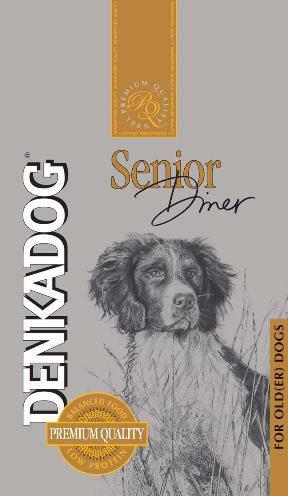 DENKADOG SENIOR DINER HONDENVOER #95;_10 KG
