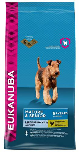 EUKANUBA DOG MATURE/SENIOR LARGE BREED HONDENVOER #95;_3 KG