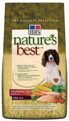 HILL'S CANINE NATURE'S BEST ADULT MINI/MEDIUM HONDENVOER #95;_12 KG