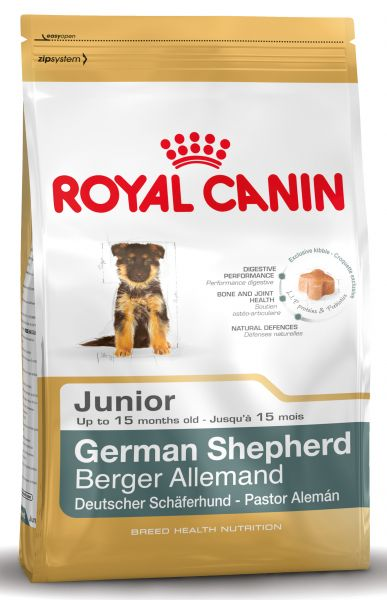 ROYAL CANIN GERMAN SHEPHERD JUNIOR HONDENVOER #95;_12 KG
