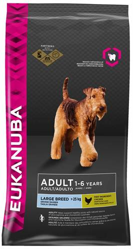EUKANUBA DOG ADULT LARGE BREED HONDENVOER #95;_3 KG
