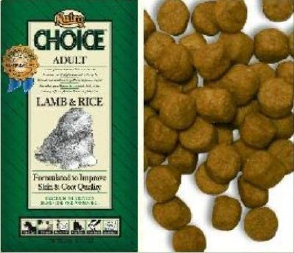 NUTRO CHOICE DOG ADULT LAM/RIJST HONDENVOER #95;_2 KG