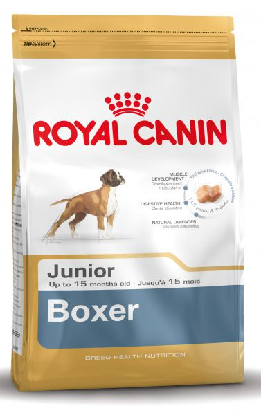 ROYAL CANIN BOXER JUNIOR HONDENVOER #95;_12 KG