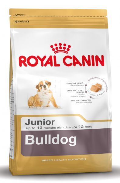 ROYAL CANIN ENGLISH BULLDOG JUNIOR HONDENVOER #95;_12 KG