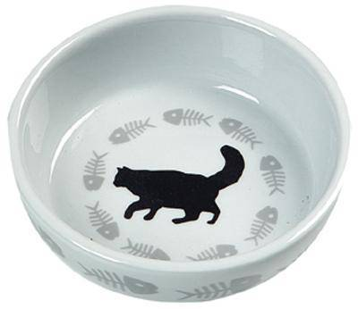 FLAMINGO VOERBAK KAT CATS #95;_12X3,5 CM