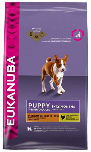 EUKANUBA DOG PUPPY MEDIUM BREED HONDENVOER #95;_3 KG