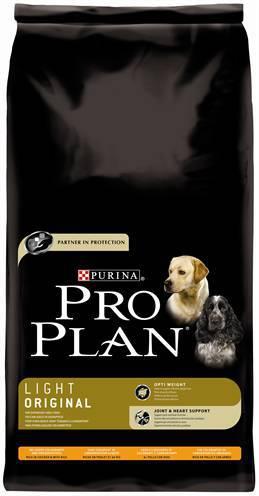 PRO PLAN DOG ADULT LIGHT KIP/RIJST HONDENVOER #95;_14 KG