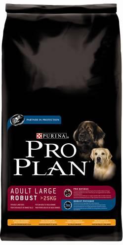 PRO PLAN DOG ADULT LARGE BREED ROBUUST KIP/RIJST H HONDENVOER #95;_14 KG