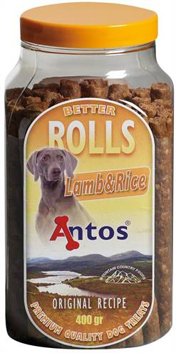 ANTOS BETTER ROLLS LAMB/RICE #95;_450 GR