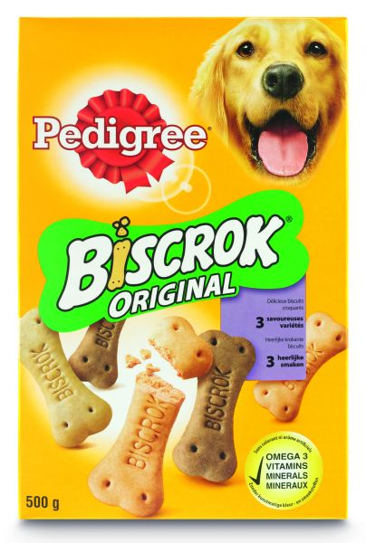 PEDIGREE KOEK MULTI BISCROK KIP/RUND/MERG #95;_500 GR