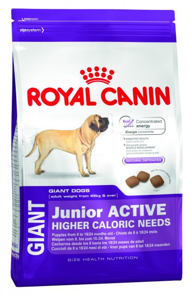 ROYAL CANIN GIANT JUNIOR ACTIVE HONDENVOER #95;_15 KG