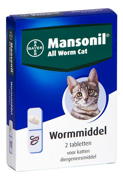MANSONIL KAT ALL WORM TABLETTEN #95;_2 ST