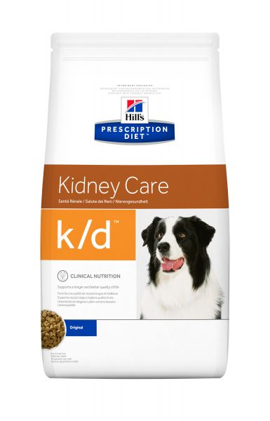 HILL'S PRESCRIPTION DIET CANINE K/D NIER HONDENVOE HONDENVOER #95;_12 KG